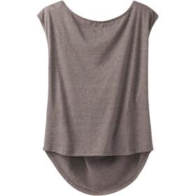 Prana Constance t-shirt Dames bruin